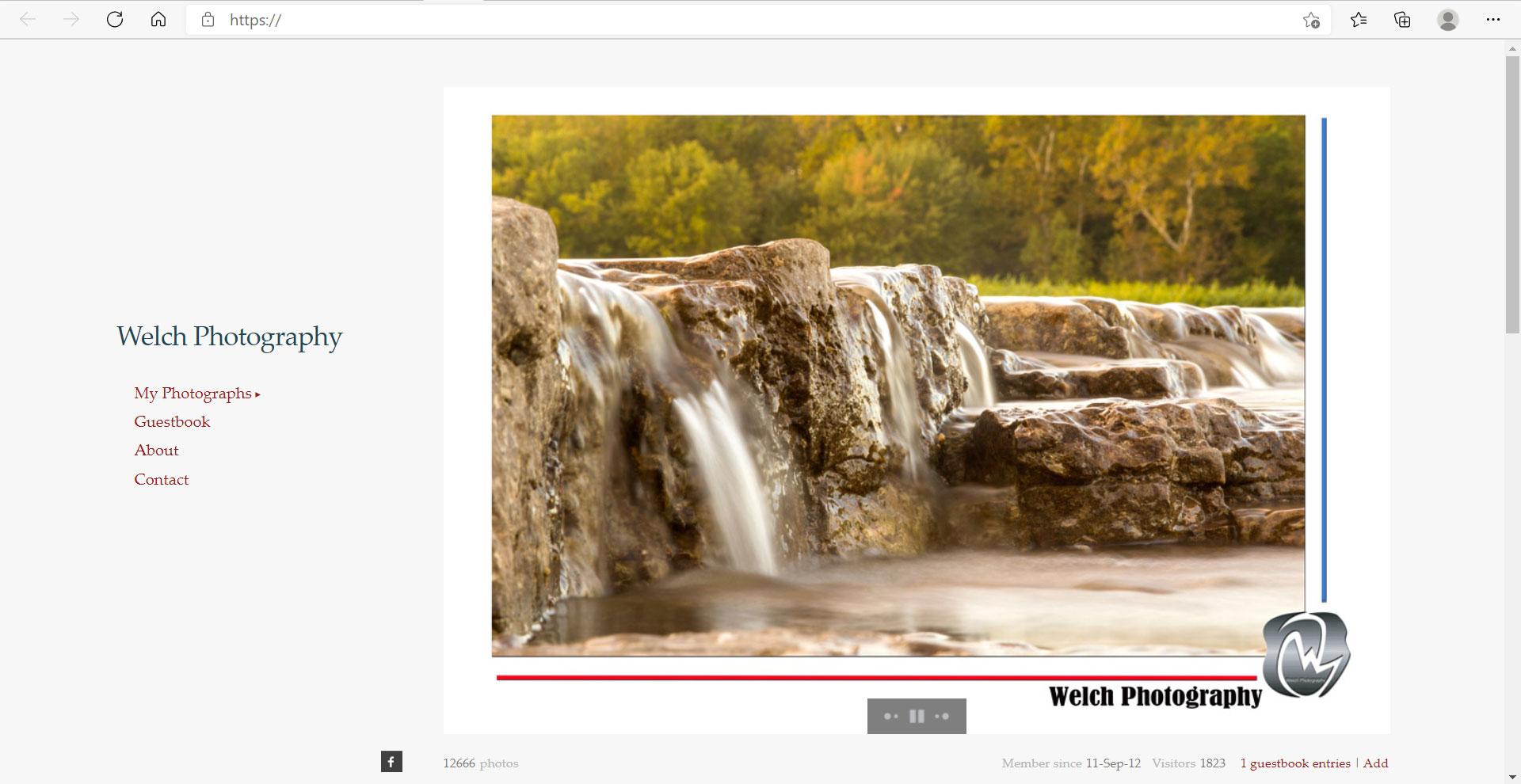 Zenfolio Example Website 06