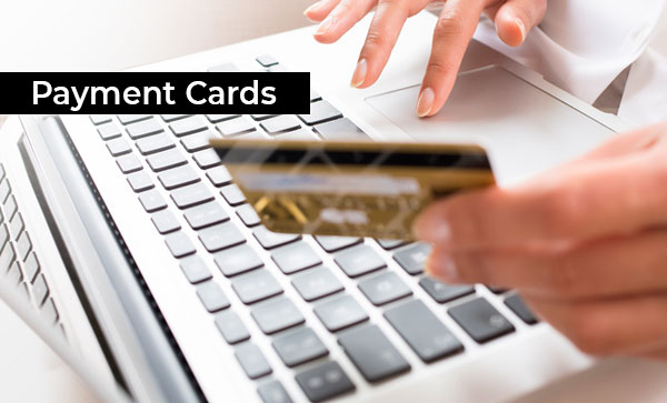 Credit Cards & Debit Cards Accepted In Your Country